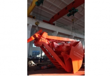 40T coal mine four rope&double flap grab