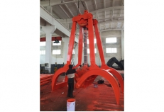 25T single rope timber grab